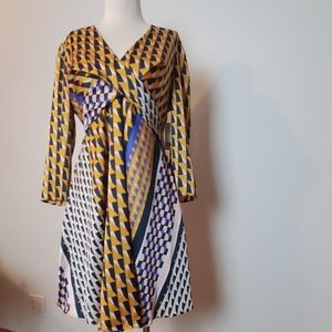 Bar III size medium abstract geometrical dress nwt